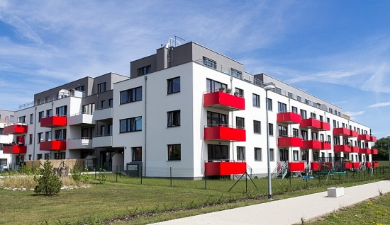 Jahodnice – Building H blocks of flats